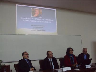 Günümüz Türk Öyküsünde Kadının Sesi Sempozyumu'na Üniversitemizden Katılım
