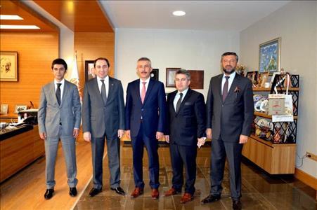 Ankara Büyükşehir Belediyesi Genel Sekreteri Rektörümüzü Ziyaret Etti