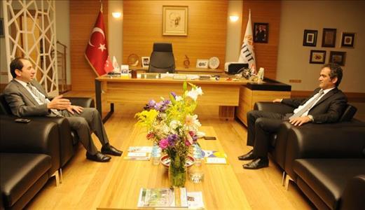 Rektörümüzü Bülent Ecevit Üniversitesi Rektörü Ziyaret Etti