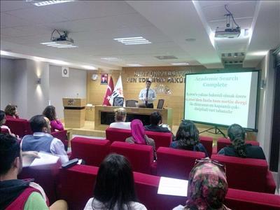 Veri Tabanları Eğitim Toplantıları Düzenlendi