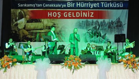 """""""Sarıkamış'tan Çanakkale'ye Bir Hürriyet Türküsü"""" İsimli Anma Gecesi Düzenlendi"""