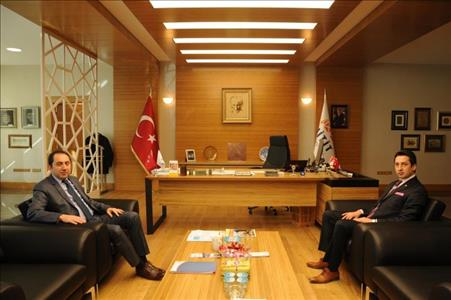 Rektörümüz Hitit Üniversitesi Mezunları ve Öğrencileri Derneği Başkanı Ahmet ÖLÇER ile Biraraya Gel