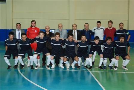 Üniversitemiz Futsal Takımı Gurubundan Birinci Olarak Çıktı