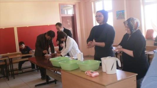 İskilip Meslek Yüksekokulu'ndan Danişmend Gazi İlköğretim Okulu'na Ziyaret Gerçekleştirildi