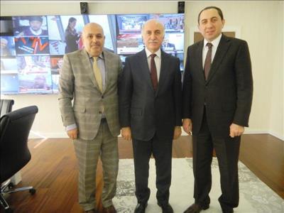 Rektörümüz TRT Genel Müdürünü Ziyaret Etti