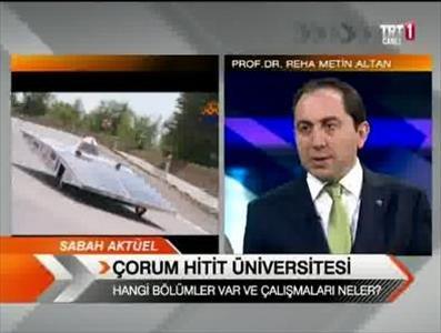Rektörümüz TRT 1 'Sabah Haberleri' Programına Konuk Oldu