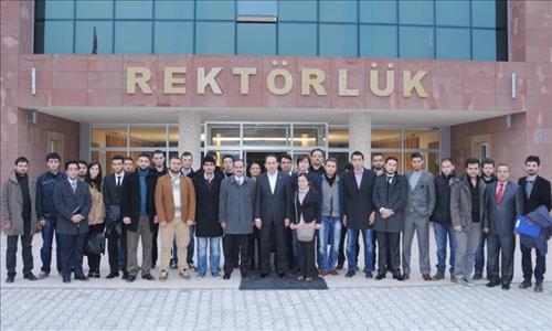 Rektörümüz Prof.Dr. Reha Metin Alkan Öğrenci Kulüp Başkanları İle Yıl Sonu Değerlendirme Toplantısı