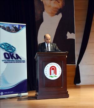 Rektörümüz OKA'nın 2015 Yılı Birinci Kalkınma Kurulu Toplantısı'na Katıldı