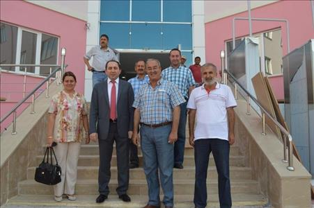 Our Rector's Visit to Student Dormitory