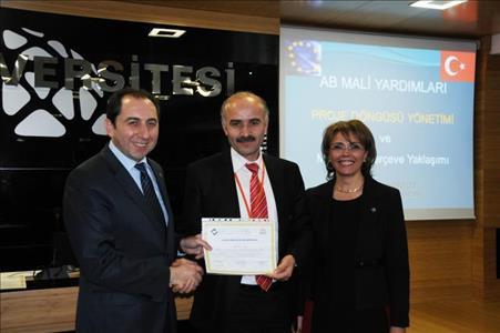 HİTİTSEM, Türkiye'de 66.sı Düzenlenen AB Sertifika Programını Tamamladı