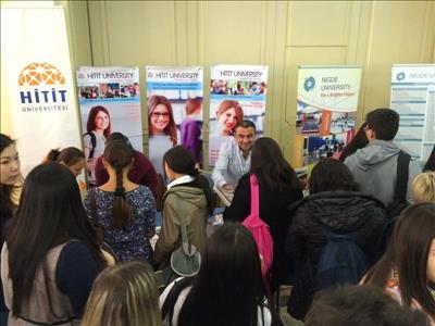 Üniversitemiz Kazakistan'ın İki Farklı Şehrinde Tanıtıldı