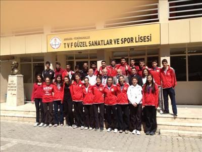Üniversitemiz TVF Voleybol Lisesinde Tanıtıldı