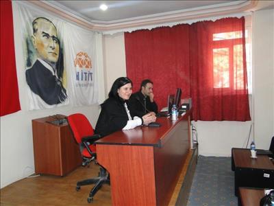 ''Gönül Elçileri Projesi'' Meslek Yüksekokulumuzda Tanıtıldı