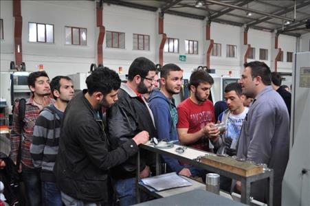 Osmancık Ömer Derindere Meslek Yüksek Okulundan Yağmaksan'a Teknik Gezi