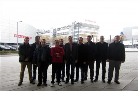 ERPE-METEG Project Commitee visits our Rector