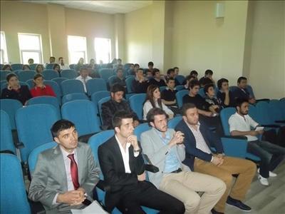 Üniversitemiz Öğrencileri Samanyolu Kolejinde Seminer Verdi