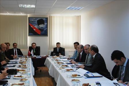 Üniversitemiz Yönetim Kurulu ve Senato Toplantısı Osmancık Ömer Derindere M.Y.O.'da Gerçekleştirild