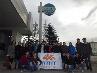 Elektronik Otomasyon Bölümü Öğrencileri HES Kablo A.Ş'de