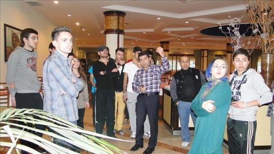 Turizm ve Otel İşletmeciliği Programı Öğrencileri Antalya'da