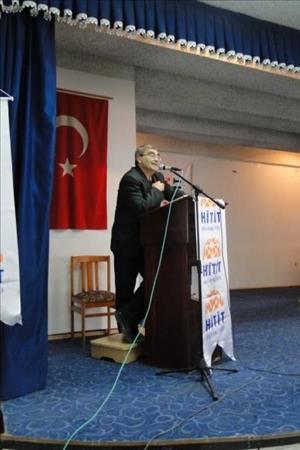 "İskilip Meslek Yüksekokulu'nda ""İstiklal Marşı ve Mehmet Akif"" Konulu Konferans Düzenlendi"