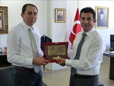Rektörümüz THK Üniversitesi Rektörü Prof. Dr. Ünsal BAN'ı Ziyaret Etti