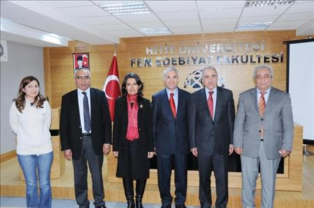Atatürk Araştırma Merkezi Başkanı Prof. Dr. Mehmet Ali Beyhan Üniversitemizde