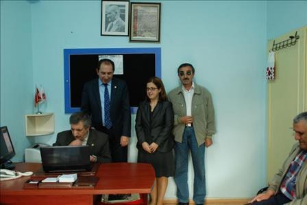 Rektörümüz Prof. Dr. Reha Metin ALKAN, Altı Nokta Körler Derneği'ne Ziyaret