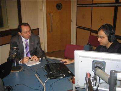 Üniversitemiz Rektörü ALKAN TRT Ankara Radyosu'nun Konuğu Oldu