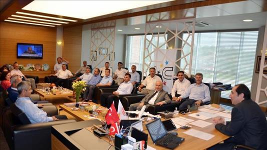 İl Genel Meclisi Üyeleri Rektörümüzü Ziyaret Etti
