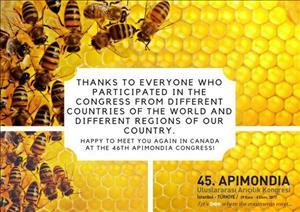 45. APIMONDIA Uluslararası Arıcılık Kongresi
