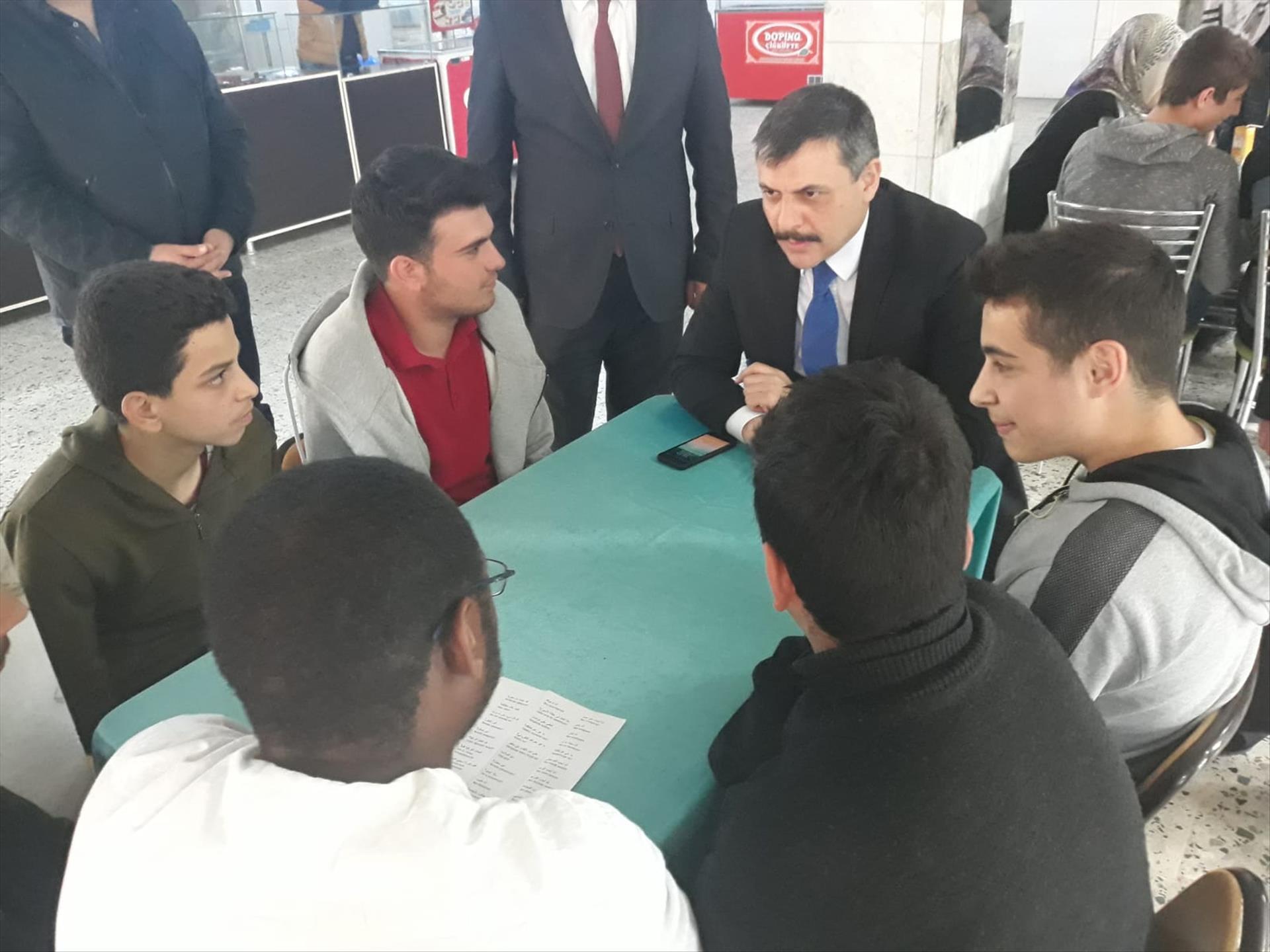 """Çorum Valisi Mustafa Çiftçi """"Dil Kardeşliği"""" Çalışmasını Ziyaret Etti"""