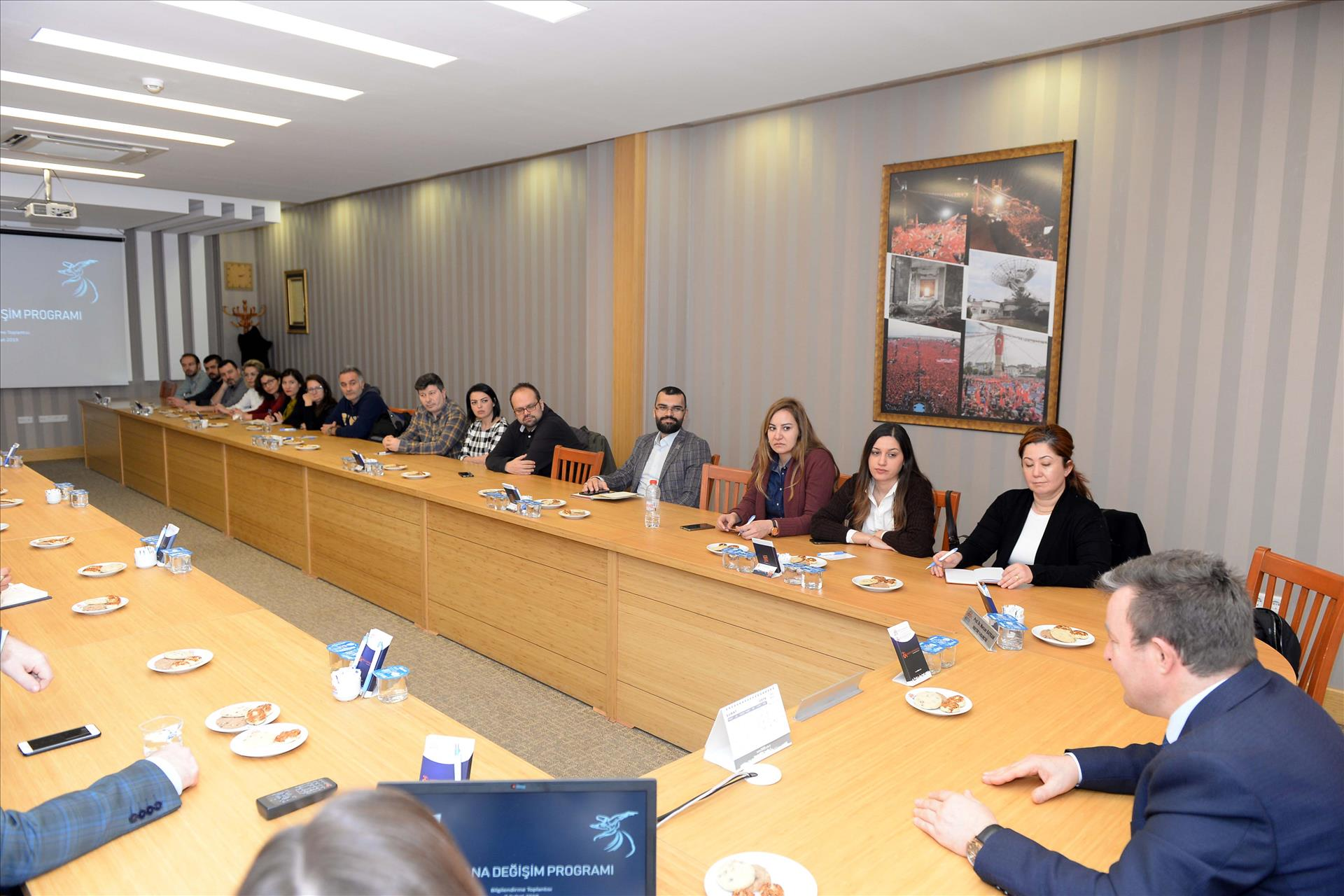 Mevlana Değişim Programı Toplantısı Yapıldı