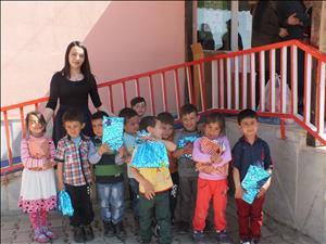 İskilip Meslek Yüksekokulu Öğrencilerinin Kuz Köyü İlkokulu Ziyareti