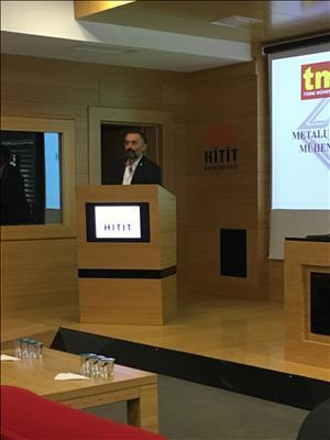 TMMOB Metalurji ve Malzeme Mühendisleri Odası ile Söyleşi Gerçekleştirildi