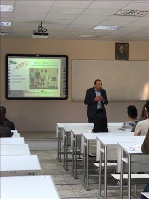 Makina Mühendisliği Bölümünde Kamu, Oda ve Sivil Toplum Örgütlerinin Katılımı ile Gerçekleştirilen Ders Seminerleri Tamamlandı
