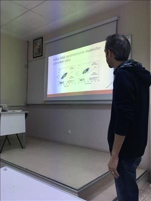 """""""Ağır Petrol Fraksiyonlarının Moleküler Düzeyde Modellenmesi"""" Konulu Seminer Gerçekleştirildi"""