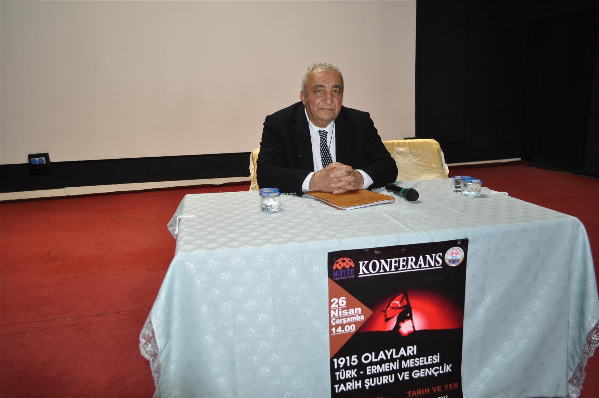 Türk - Ermeni Meselesi Tarih Şuuru ve Gençlik Konulu Konferans Düzenlendi