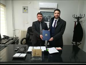 Meslek Yüksekokulumuzdan Osmancık Organize Sanayi Bölgesi  (OSB) Müdürü Emre Gökel'e  Ziyaret
