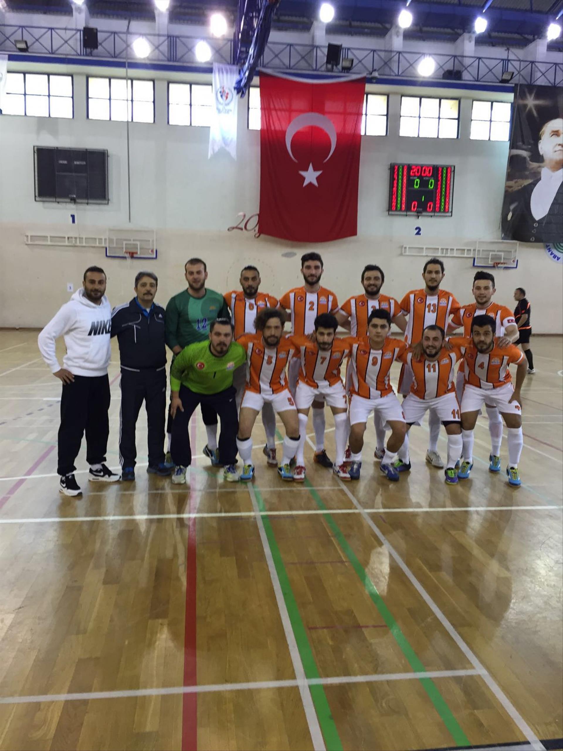 Futsal ÜNİLİG'de Hitit Rüzgarı İBU 3 - HİTÜ 4