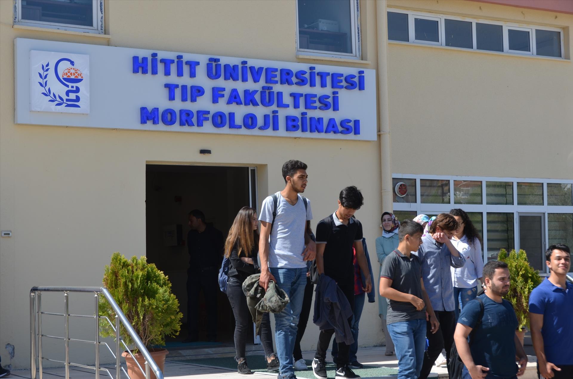 15 Temmuz Şehitleri Fen Lisesi Öğrencilerinden Fakültemize Ziyaret